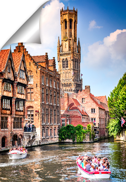 The Rozenhoedkaai runs from the Dijver to the Braambergstraat . The Rozenhoedkaai is the most photographed point in Bruges. A must see while in town.