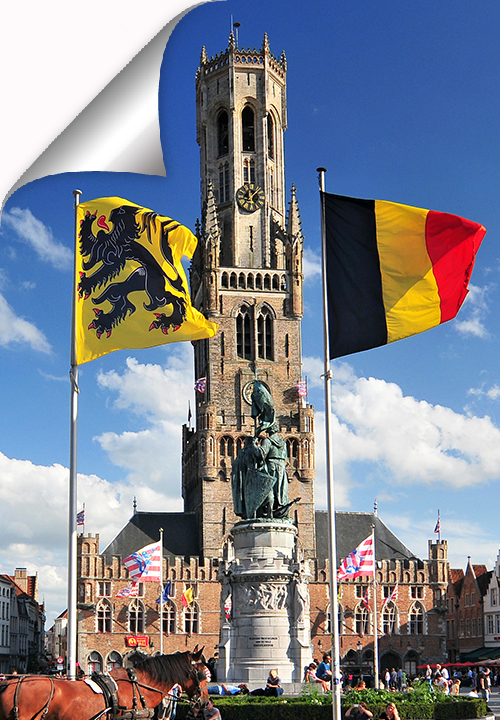 The Belfry is a medieval bell tower situated on the Market Square of Bruges and one of the city's most prominent symbols.