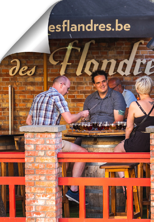 After nearly 60 years, Bourgogne des Flandres has returned to Bruges with its own brewery. Have a drink and visit the museum.