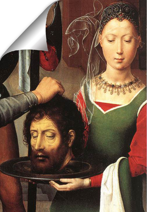 Hans Memling's paintings are a rare source of information about daily life in the late Middle Ages.