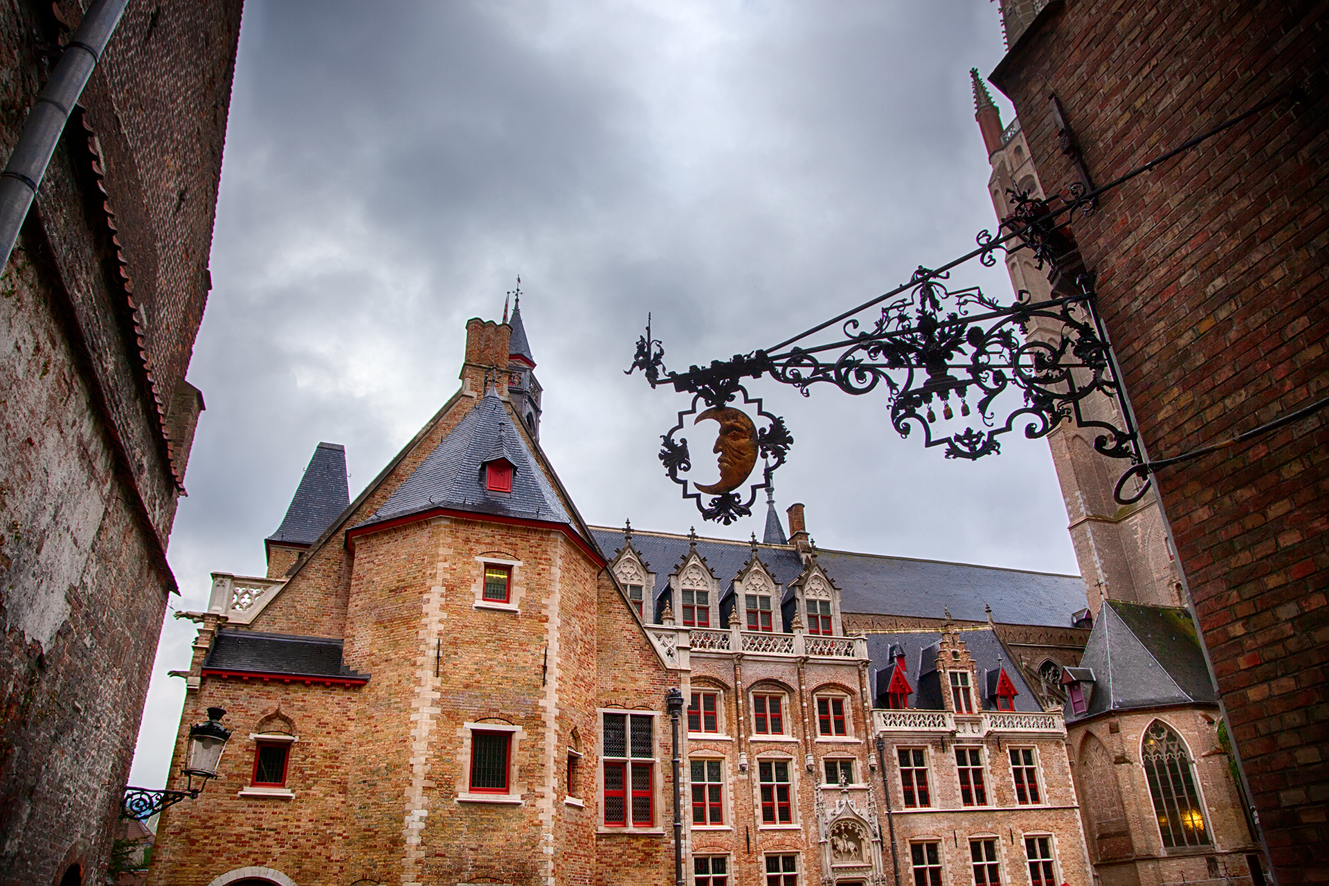 Typical house of bruges